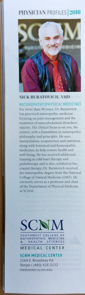 Dr. Nick Top Doc in Phoenix Mag